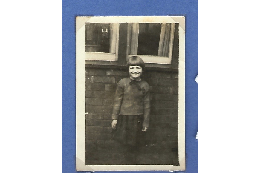 Thelma Cardwell when she was about eight years old. Courtesy photo